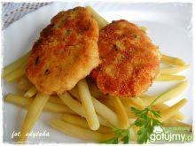 Kolorowe kotleciki rybno-warzywne