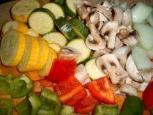 Kolorowe leczo z warzyw