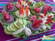 Kolorowe lekkie Madziowe śniadanko :)