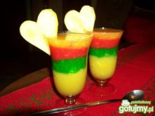 Kolorowe mango , deserek z witaminami