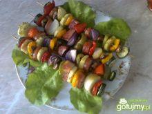 Kolorowe szaszłyczki