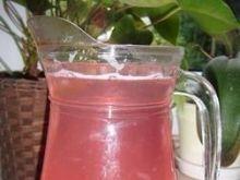Kompot jabłkowo-malinowy