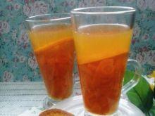 Kompot marchewkowy z pomarańczą