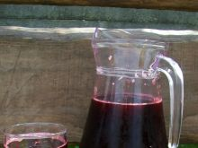Kompot porzeczkowo-truskawkowo-śliwkowy
