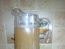 Kompot rabarbarowo- jabłkowo- miętowy