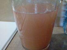 Kompot rabarbarowo - jabłkowy
