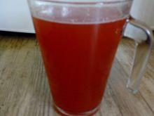 Kompot rabarbarowo - truskawkowy