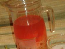 Kompot rabarbarowy z truskawkami
