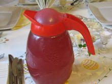 Kompot truskawkowo-ananasowo-brzoskwiniowy