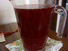 Kompot wiśniowo - rabarbarowy