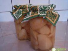 Kompot z gruszek z cynamonem
