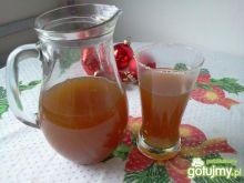 Kompot z susz.śliwek i świeżych jabłek
