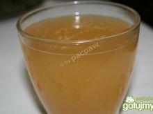Kompot z suszu z dodatkiem drożdży