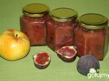 Konfitura figowo-jabłkowa