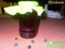 Konfitura jagodowa z gruszkami