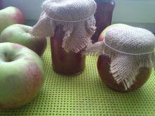 Konfitura malinowo - jabkowa