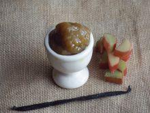 Konfitura rabarbarowa z wanilią