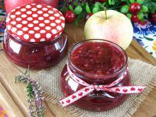 Konfitura z brusznicy i jabłek