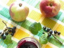 Konfitura z czarnej porzeczki i jabłek