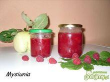 Konfitura z jabłek i malin