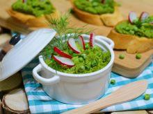 Koperkowa pasta z zielonego groszku