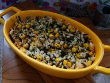 Koperkowe risotto z dzikim ryżem