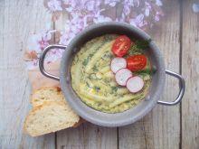 Koperkowy omlet z fasolką szparagową