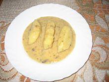 Kopytka z sosem pieczeniowym