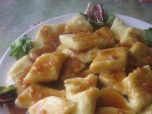 Kopytka z sosem wg Joli