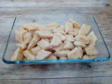 Kopytka ziemniaczano - marchewkowo - serowe