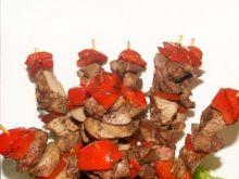 Korona z szaszłyków drobiowych