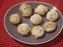 Korzenne ciasteczka dyniowe z orzechami