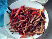 Frytki korzenne z marchewki i pietruszki