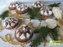Korzenne muffinki z twarożkiem