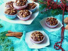 Korzenne muffiny z owocami kaki