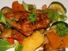 Korzenny kurczak z warzywami