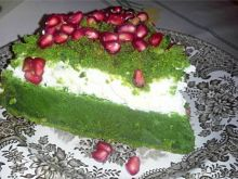 Kosmiczne ciasto szpinakowe