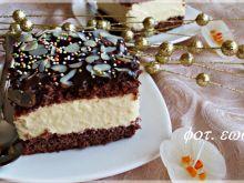 Kostka kremowo - czekoladowa