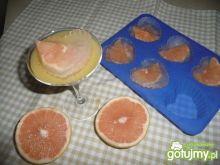 Kostki lodu z grapefruita