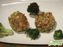Kotleciki brokułowe z ryżem