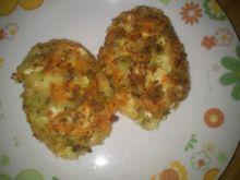 Kotleciki brokułowo - jajeczne