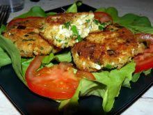 Kotleciki jajeczne ze szczypiorem i serem