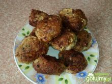 Kotleciki mielone w kokoswej panierce