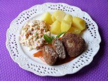 Kotleciki mielone z cebulką marynowaną