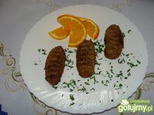 Kotleciki mięsno-gryczane z fasolką