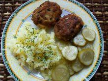 Kotleciki mięsno-jajeczne ze szczypiorkiem