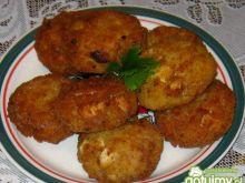 Kotleciki mięsno - ryżowe z jajkiem