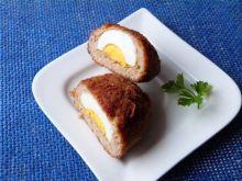 Kotleciki nadziewane jajkami