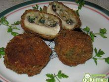 Kotleciki pietruszkowo- pieczarkowe