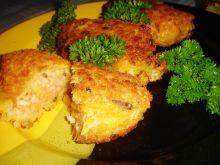 Kotleciki ryżowe z grzybami